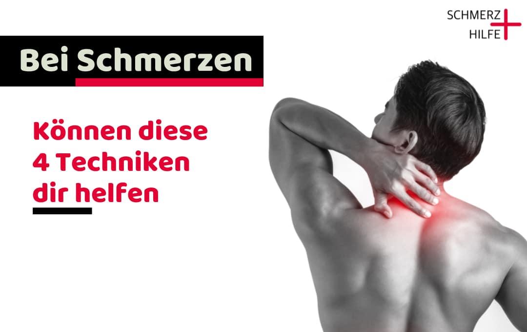 Schmerz Hilfe Nacken